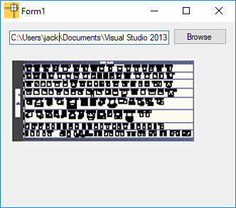 dwg thumnail preview in c sharp